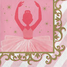 16 Twinkle Toes Ballerina Ballet Birthday Party 65 Paper Lunch Napkins
