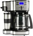 Hamilton Beach 2-Way Flex Brew Digital 1-12 Cup K Cup Ready Coffee Maker Brewer