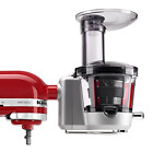 KitchenAid KSM1JA Masticating Juicer and Sauce Attachment Silver