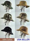Bucket Hat 100 Cotton Assorted Styles NWT