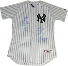 New York Yankees World Series MVPs 10 Signature Authentic Pinstripe Jersey LE 27