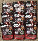 9 Packs of Topps Star Wars Galactic Connexions Series 3 NEW SEALED 5 Discs Pk
