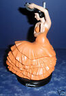 Tangerine Fiesta Go-With Dancing Lady Figure- Retired- NEW in  BOX- 6-1/4