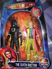 Doctor who attack of the cybermen Sixth doctor and stealth cyberman figures