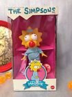 The Simpsons Sweet Suckin MAGGIE 10 Doll Figure Mattel 1990 New In Box Rare