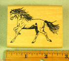 Rubber Stamp Nature Artstamps Trotting Horse Animals 2741