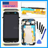 LCD Display Touch Screen Digitizer Assembly + Frame for HTC One M8 831C +Tools
