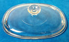 Vintage Pyrex Corning #29 Clear Glass Lid F12C 9 5/8