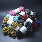 Round 4mm Rope Stripe Shoelace Sneaker Hiking Walking Boot Shoe Laces 4 LENGTHS