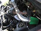 Black Green For 1989 1994 Chevy Geo Tracker 16L L4 Air Intake System + Filter