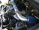 Blue For 1989 1994 Chevy Geo Tracker 16L L4 Air Intake System Kit + Filter