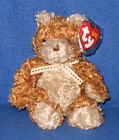 TY WHITTLE the BEAR BEANIE BABY - MINT with MINT TAG