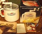 VTG Premier Donvier Quart Ice Cream Maker Camping Off Grid NO ELECTRICITY Japan