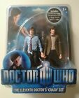 ELEVENTH 11TH DR DOCTOR WHO CLASSIC FIGURE CRASH SET 5 INCH TWIN PACK NEW