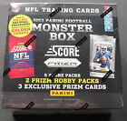 NFL Score Monster Box 2013 Football Trading Card Sealed 3 Exclusive Prizm Per