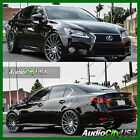 22 staggered RF16 wheel BLACK AND Machine FIT LEXUS GS350 GS430 LS460