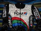 VINTAGE TEAM PDM CHROME TAPES ULTIMA WOOL CYCLING JACKET MADE IN ITALY SZ 5 XL
