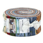 Moda FABRIC Jelly Roll RIVER JOURNEY by Holly Taylor 40 2 1 2 Strips