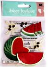 Watermelon Slices Seed Splats RARE Jolees 3D Sticker