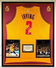 Premium Framed Kyrie Irving Signed Cleveland Cavaliers Jersey - PSA COA - Cavs