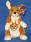 TY POGO the KANGAROO BEANIE BABY - MINT with MINT TAGS