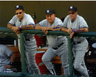 NY Yankees Dynasty Torre Zimmer Stottlemyre Triple Signed 16x20 Photo Steiner