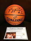 DERRICK ROSE SIGNED AUTOGRAPHED BASKETBALL CLEVELAND CAVALIERS-EXACT PROOF COA