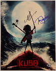 ART PARKINSON + TRAVIS KNIGHT Signed Kubo and the Two Strings 11x14 Beckett BAS
