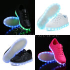 SAGUARO Kids LED Shoes Light Sportswear Sneaker Luminous Casual Shoes Boys Girls