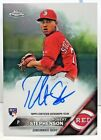Robert Stephenson 2016 Topps Chrome Rookie Card RC on-card Autograph Auto - REDS
