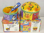 Sango Sue Zipkin Sweet Shoppe Christmas Dip Mix Set & Round Box Lot