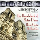 Alfred Newman: The Hunchback of Notre Dame; Beau Geste; All About Eve by Alfred