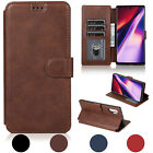 For Galaxy Note 8 S8 S8 Plus Leather Removable Wallet Magnetic Flip Card Case