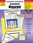 Ancient Egypt Grade 4 6+ History Pockets by Evan Moor Educational Publishers