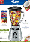 Oster Blender 6-Cup Jar Fruit Smoothie Maker Kitchen Dips Blend Juice Drink Soup