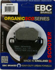 Kymco People 125 (1999 to 2015) EBC Organic FRONT Disc Brake Pads (SFA305) 1 Set