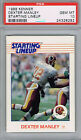 DEXTER MANLEY Washington Redskins 1988 Kenner Starting Lineup PSA 10 Pop 4