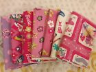 Large Lot Barbie 7 Pc Different Prints Cotton Flannel Fabric 7 2 3 Yards Nice