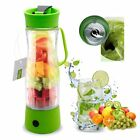 HQdeal Mini Electric Personal Juicer Sports Bottle Protein Shaker Mixer Smoothie
