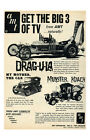 New Hot Rod Poster 11x17 AMT model kit ad Dragula Muster Koach My Mother the Car