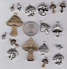 YOU GET 17 METAL MIX MUSHROOM CHARMS FROM JUNKMANRALF US SEL