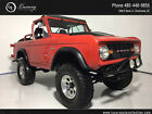 1971 Ford Bronco 1971 Ford Bronco Red SUV Manual