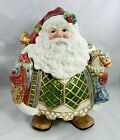 Extra Large Fitz & Floyd St. Nick Christmas Holiday Santa Claus Cookie Jar