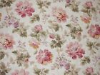 Mill Creek Raymond Waites Floral MEADOW Pink Home Decor Drapery Sewing Fabric