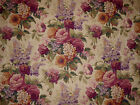 1.625 YDS Mill Creek Raymond Waites ANTIQUE GARDEN Floral STRAW Drapery Fabric