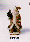 5 3/4 Inch High Fitz and Floyd Winter Wonderland Orn 2004 Santa LE  19/2100