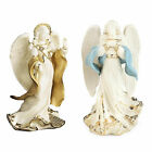Lenox First Blessing Nativity Angels Peace  Hope Figurines Set 2 Christmas NEW