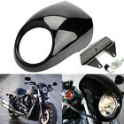 Front Headlight Fairing Cowl for Harley V ROD Dyna FX Sportster XL Black