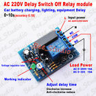 Ac 220v 230v Adjustable Delay Time Turn Onoff Relay Switch Timer Control Module