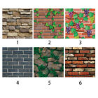 3D Brick Waterproof Self adhesive Wall Sticker Panel Decal Wall paper Home Decor